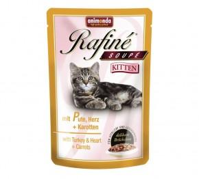 Animonda Cat Rafiné Soupé Kitten Pute und Herz 100 g