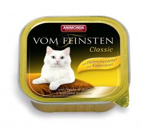 Animonda Cat Vom Feinsten Adult mit Hühnchenleber 100 g