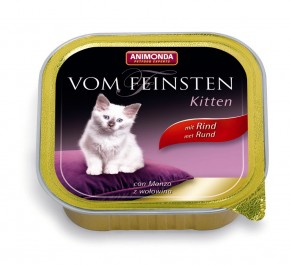 Animonda Cat Vom Feinsten Kitten mit Rind 100 g