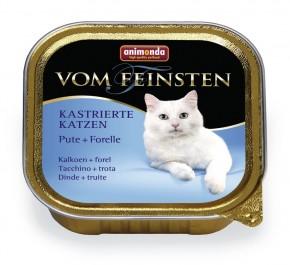 Animonda Cat Vom Feinsten für kastrierte Katzen Pute und Forelle 100 g