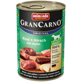 Animonda Dog Gran Carno Original Adult Hirsch und Apfel 400 g