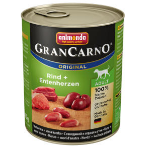 Animonda Dog Gran Carno Original Adult Pute und Ente 800 g