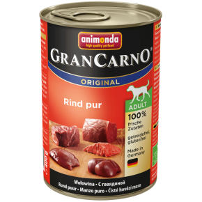 Animonda Dog Gran Carno Original Adult Rind pur 400 g