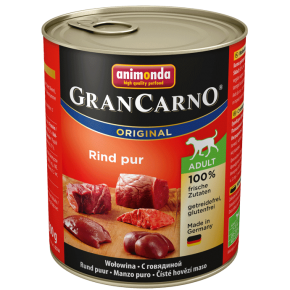 Animonda Dog Gran Carno Original Adult Rind pur 800 g