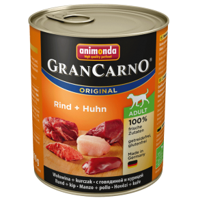 Animonda Dog Gran Carno Original Adult Rind und Huhn 800 g