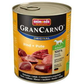 Animonda Dog Gran Carno Original Adult Rind und Pute 800 g