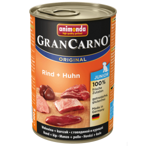 Animonda Dog Gran Carno Original Junior Rind und Huhn 400 g