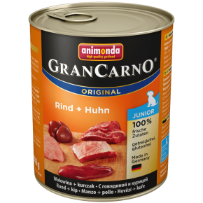 Animonda Dog Gran Carno Original Junior Rind und Huhn 6 x 800 g