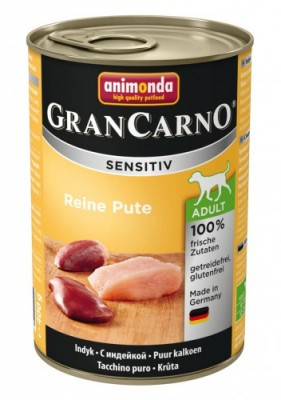Animonda Dog Gran Carno Sensitiv Adult Reine Pute 400 g