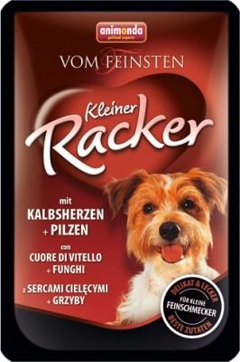Animonda Dog Vom Feinsten Kleiner Racker mit Kalbsherzen und Pilzen 16 x 85 g