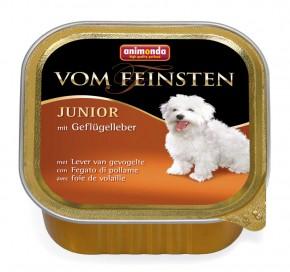 Animonda Dog vom Feinsten Junior Geflügelleber 22 x 150 g