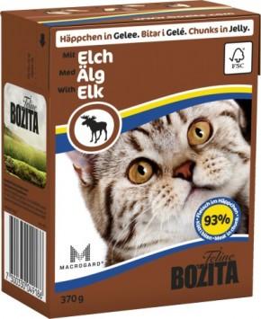 Bozita Cat Häppchen in Gelee mit Elch 16 x 370 g