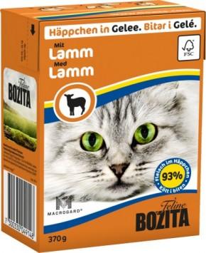 Bozita Cat Häppchen in Gelee mit Lamm 16 x 370 g