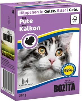 Bozita Cat Häppchen in Gelee mit Pute 16 x 370 g