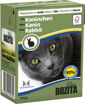 Bozita Cat Häppchen in Soße mit Kaninchen 16 x 370 g