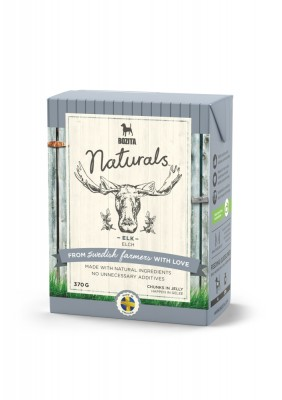 Bozita Dog Naturals Happen in Gelee Elch 16 x 370 g