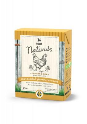 Bozita Dog Naturals Happen in Gelee Hühnchen & Reis 16 x 370 g