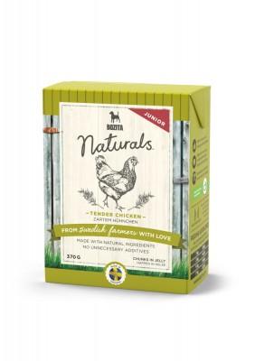 Bozita Dog Naturals Happen in Gelee Junior Hühnchen 16 x 370 g