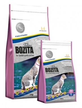 Bozita Feline Sensitive Hair & Skin 10 kg