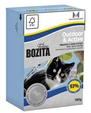 Bozita Feline Outdoor & Active Häppchen in Gelee mit Elch 16 x 190 g