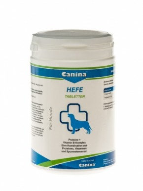 Canina Hefe Tabletten 250 g, 800 g oder 2,5 kg