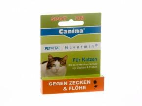 Canina Petvital Novermin Katzen 2 ml