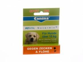Canina Petvital Novermin große Hunde 4 ml