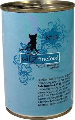 Catz finefood No. 13 Hering & Krabben 6 x 400 g