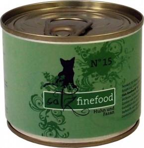 Catz finefood No. 15 Huhn & Fasan 85 g, 200 g, 400 g oder 800 g