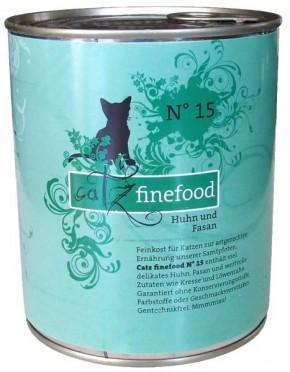 Catz finefood No. 15 Huhn & Fasan 6 x 800 g