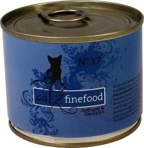 Catz finefood No. 17 Geflügel & Garnelen 85 g, 200 g, 400 g oder 800 g