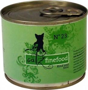 Catz finefood No. 23 Rind & Ente 85 g, 200 g, 400 g oder 800 g