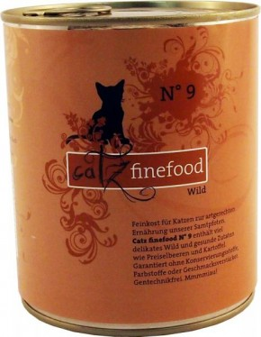 Catz finefood No. 9 Wild 6 x 800 g