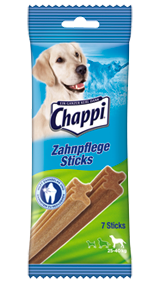 Chappi Zahnpflege Sticks große Hunde 10 x 7 Stück