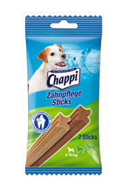 Chappi Zahnpflege Sticks kleine Hunde 10 x 7 Stück