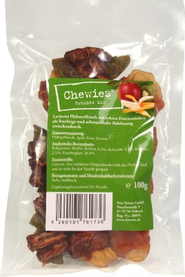 Chewies Früchte Mix 15 x 100 g