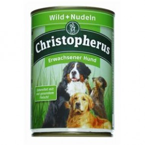 Christopherus Adult Wild & Nudeln Dose 400 g