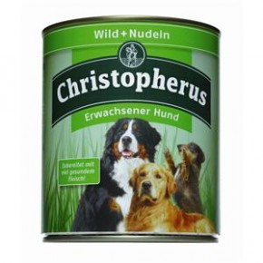 Christopherus Adult Wild & Nudeln Dose 800 g