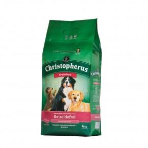 Christopherus Getreidefrei mit Hirsch und Kartoffel 1,5 kg, 4 kg oder 12 kg (SPARTIPP: unsere Staffelpreise)