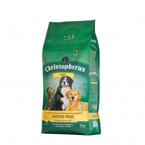 Christopherus Leichte Kost mit Geflügel, Reis und Gerste 4 kg oder 12 kg (SPARTIPP: unsere Staffelpreise)