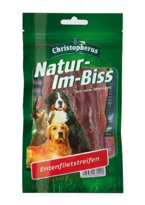Christopherus Snack Natur im Biss Entenfiletfleisch 12 x 70 g