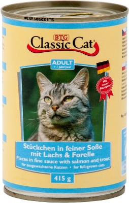 Classic Cat mit Lachs und Forelle 415 g
