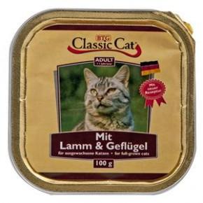 Classic Cat mit Lamm und Geflügel 30 x 100 g