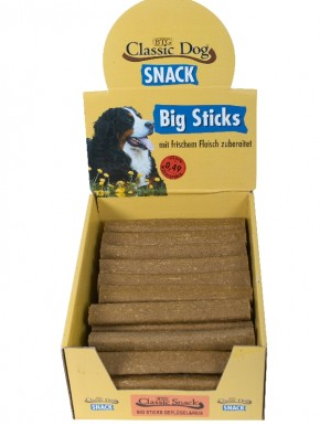 Classic Dog Snack Big Sticks Geflügel und Reis 50 Stück