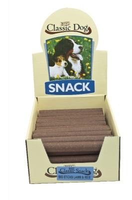 Classic Dog Snack Big Sticks Lamm und Reis 50 Stück