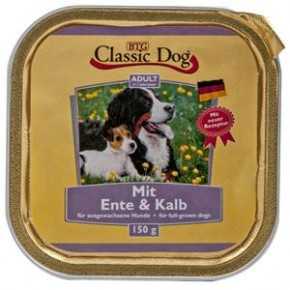 Classic Dog mit Ente und Kalb 20 x 150 g