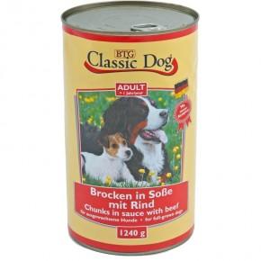 Classic Dog mit Rind 12 x 1.240 g