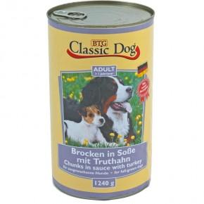 Classic Dog mit Truthahn 1.240 g