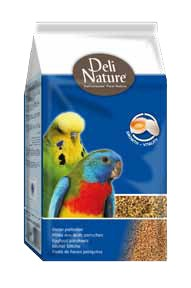 Deli Nature Eifutter Wellensittiche 4 x 1 kg