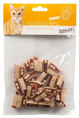 Dokas Cat Hühnchen Sandwich mit Käse 10 x 70 g